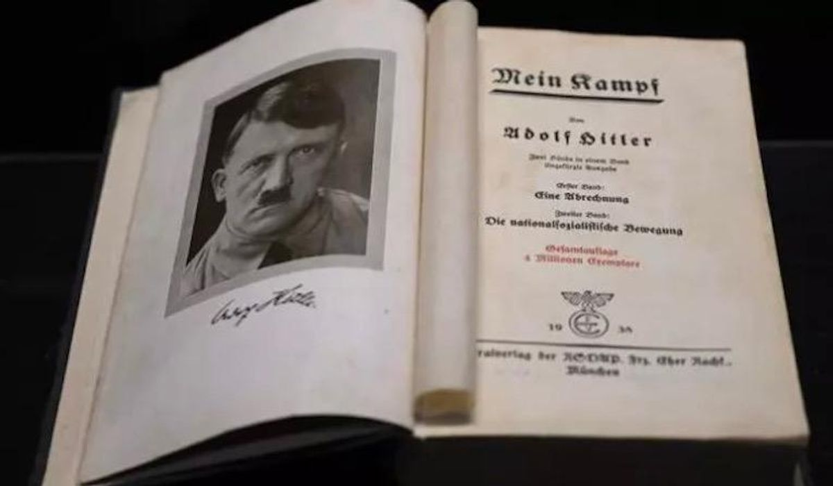 French publisher releases new Mein Kampf edition to 'confront' Nazism