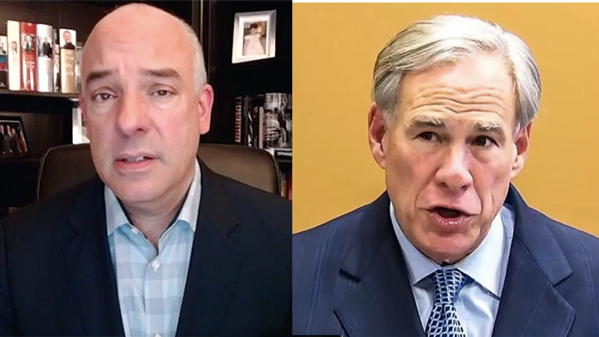 Texas Democrat nails 'absurd' Greg Abbott threat not to pay lawmakers if they deny voter suppression