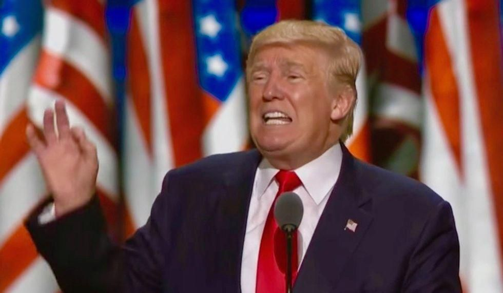 Donald Trump reportedly hopes to be reinstated as President in August