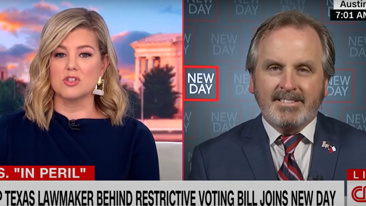 Texas Republican squirms as CNN's Brianna Keilar grills him over restrictions on Sunday voting