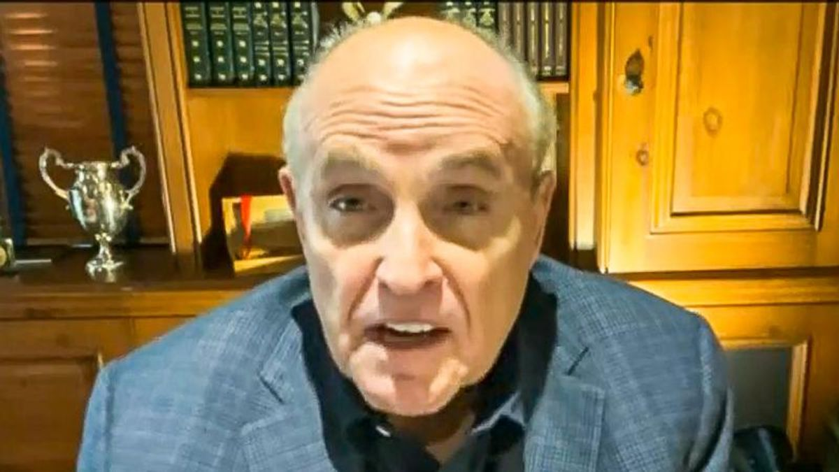 Rudy Giuliani rages at 'anti-American' prosecutors: It's 'unconstitutional' to investigate Trump
