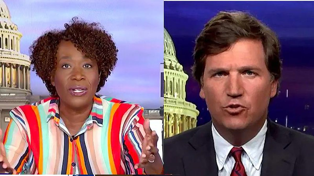 MSNBC's Joy Reid explains why Tucker Carlson now seems to support naked people in Walmart