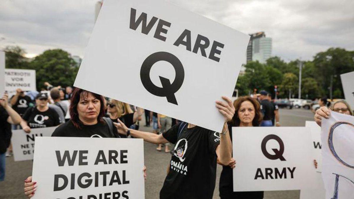 QAnon believers threaten more election violence