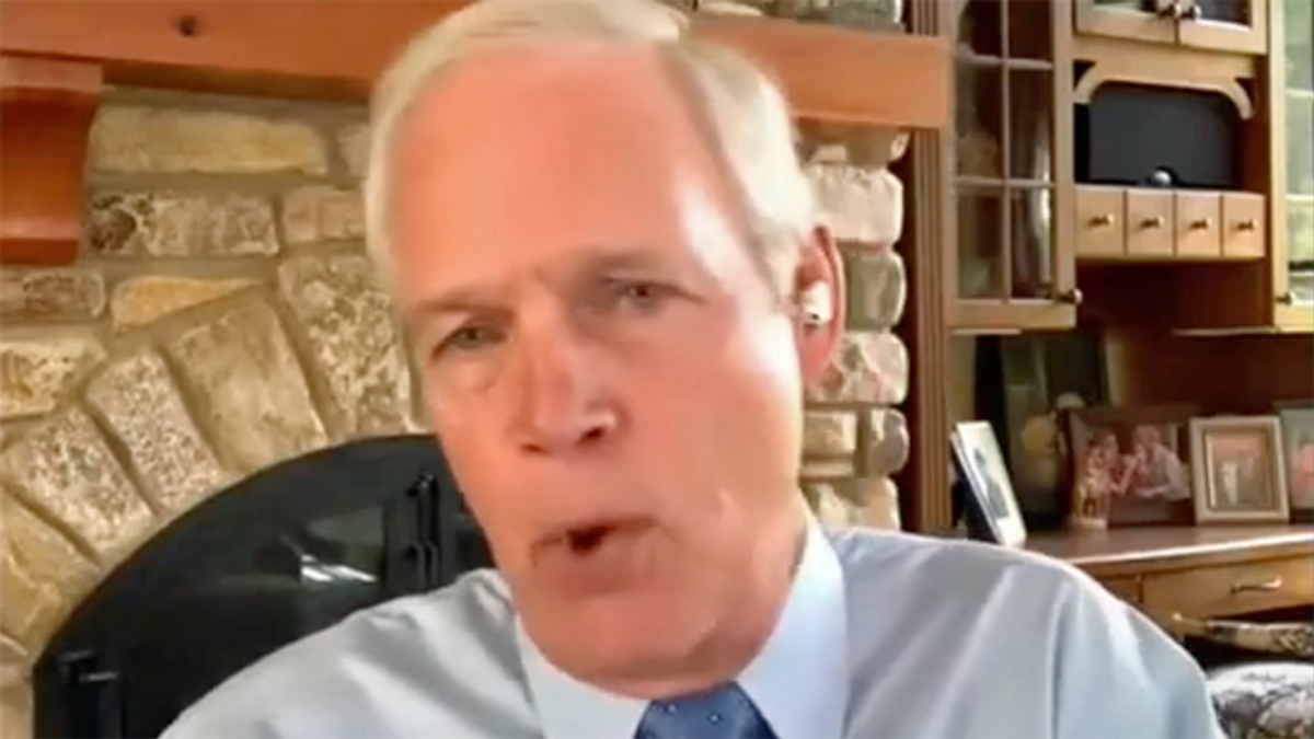 WATCH: Flailing GOP senator blames everyone but Trump as he gets grilled over the Capitol riot