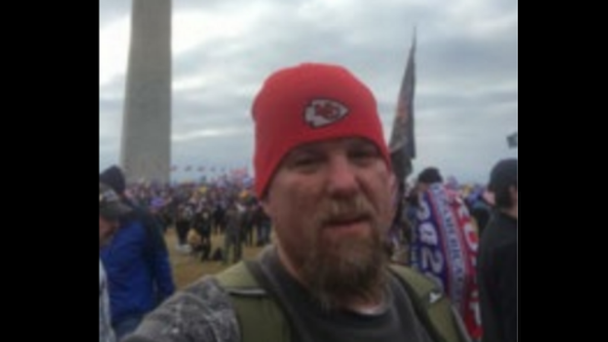 Feds bust Kansas City man as Capitol rioter after social media boast he 'scaled the west wall'