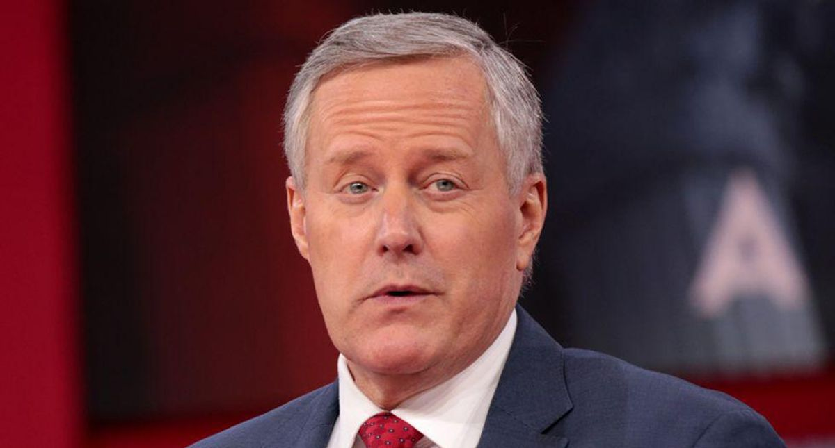 Frantic Mark Meadows pushed DOJ to investigate election conspiracy claims during Trump's last days: report
