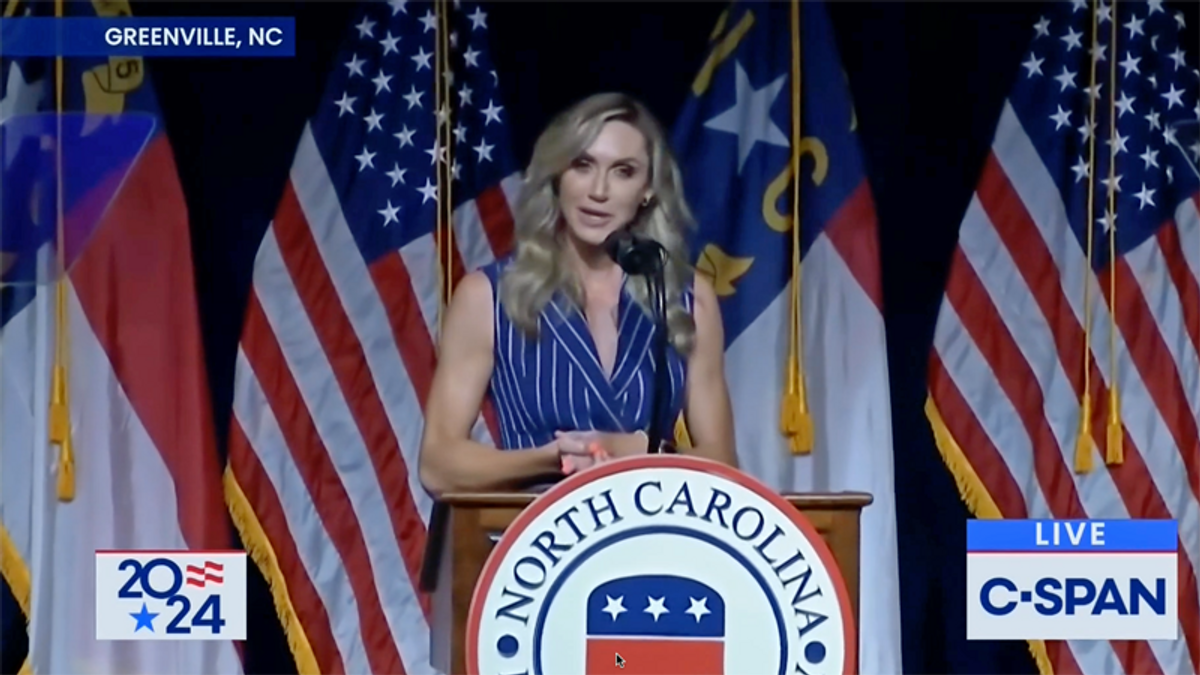 WATCH: Lara Trump says she's not running for Senate in North Carolina — for now