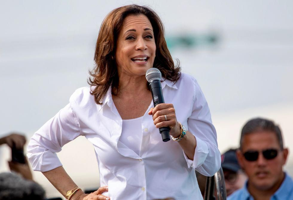 Plane Carrying VP Harris Forced to Return Due to 'Technical Issue'