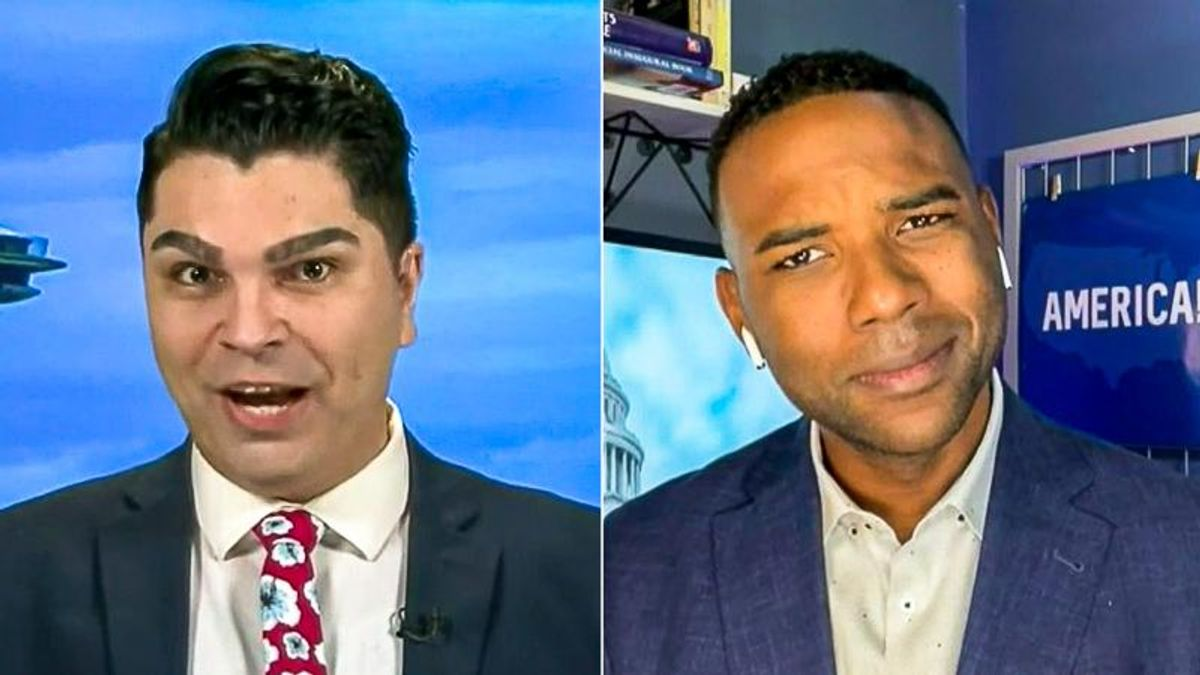Fox News guests battle over US history: 'We treated slaves nicely -- that's not the truth!'