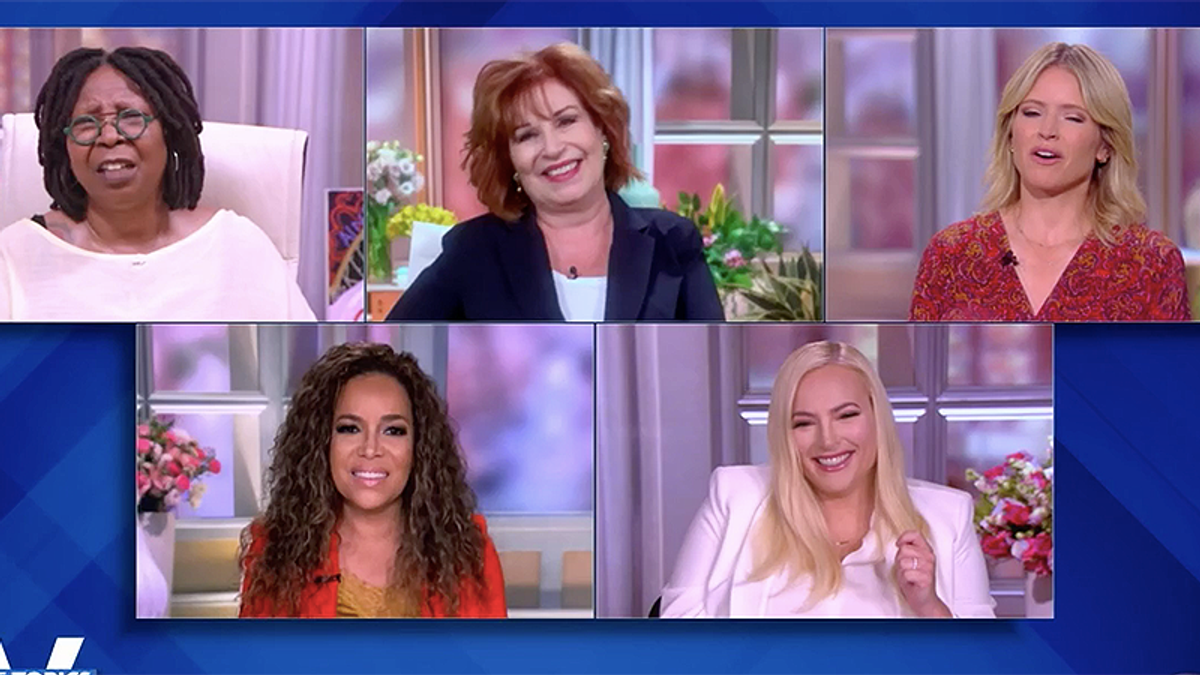 The View erupts after Joy Behar says Trump looked like he 'pooped his pants' in North Carolina