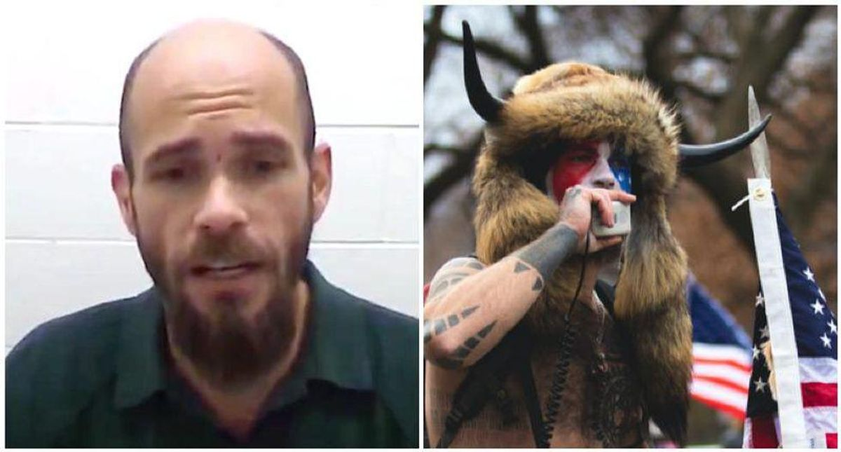 'QAnon Shaman' Jacob Chansley moved to federal prison for 'forensic evaluation'