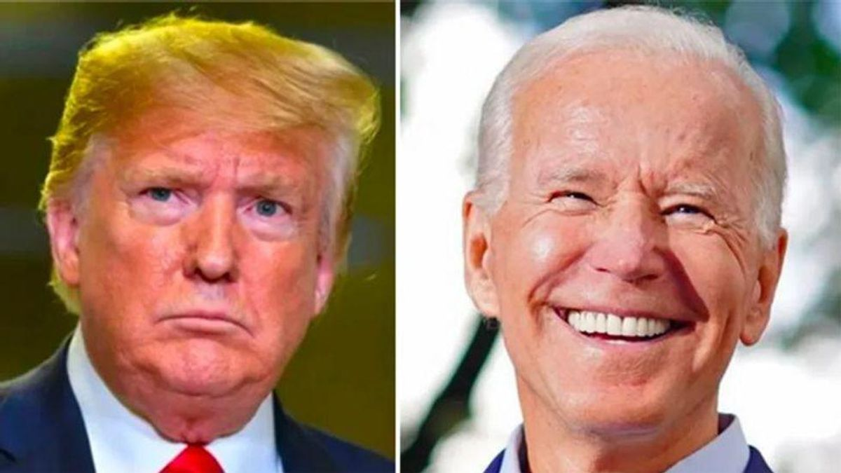 Joe Biden hoping for a 2024 rematch with Donald Trump: report