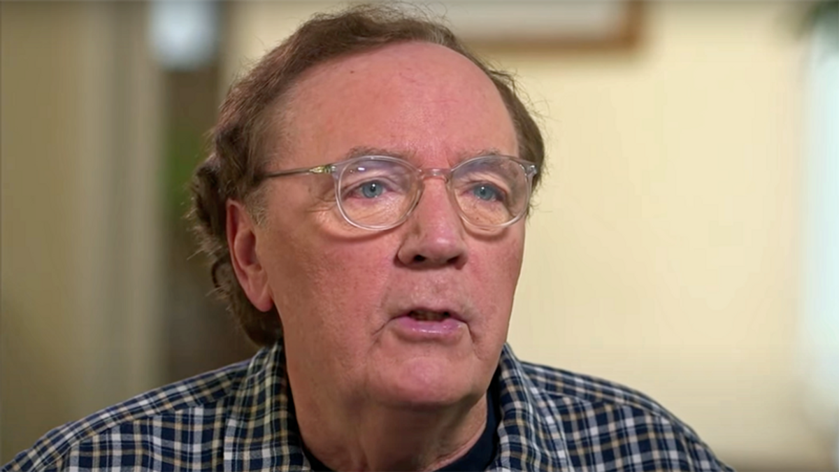 James Patterson says pushing a narrative of stolen election results is 'the game that Trump plays'