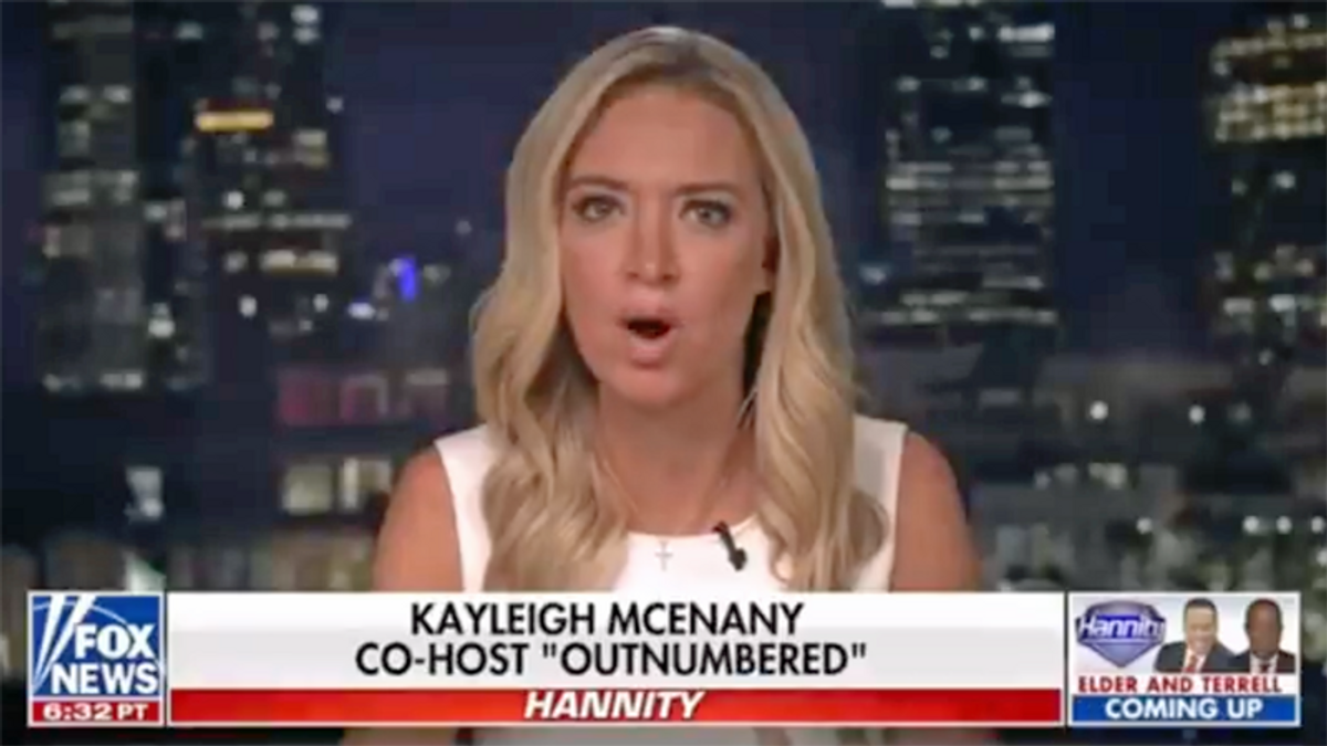 Kayleigh McEnany hit with brutal montage after whining about Jen Psaki