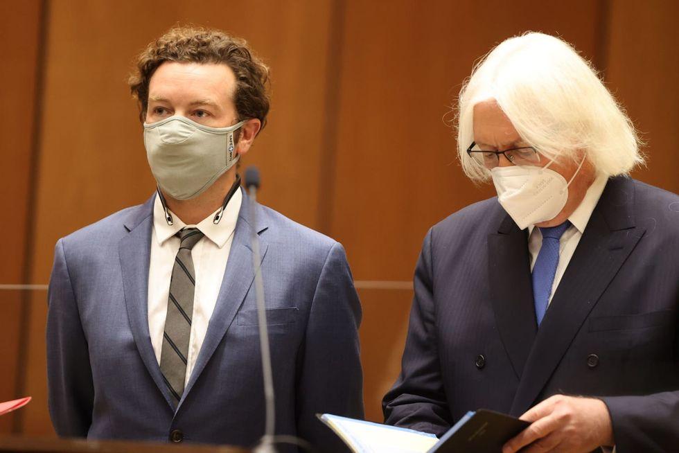 'That '70s Show' star Danny Masterson surrenders passport, reaffirms 'not guilty' plea in LA rape case