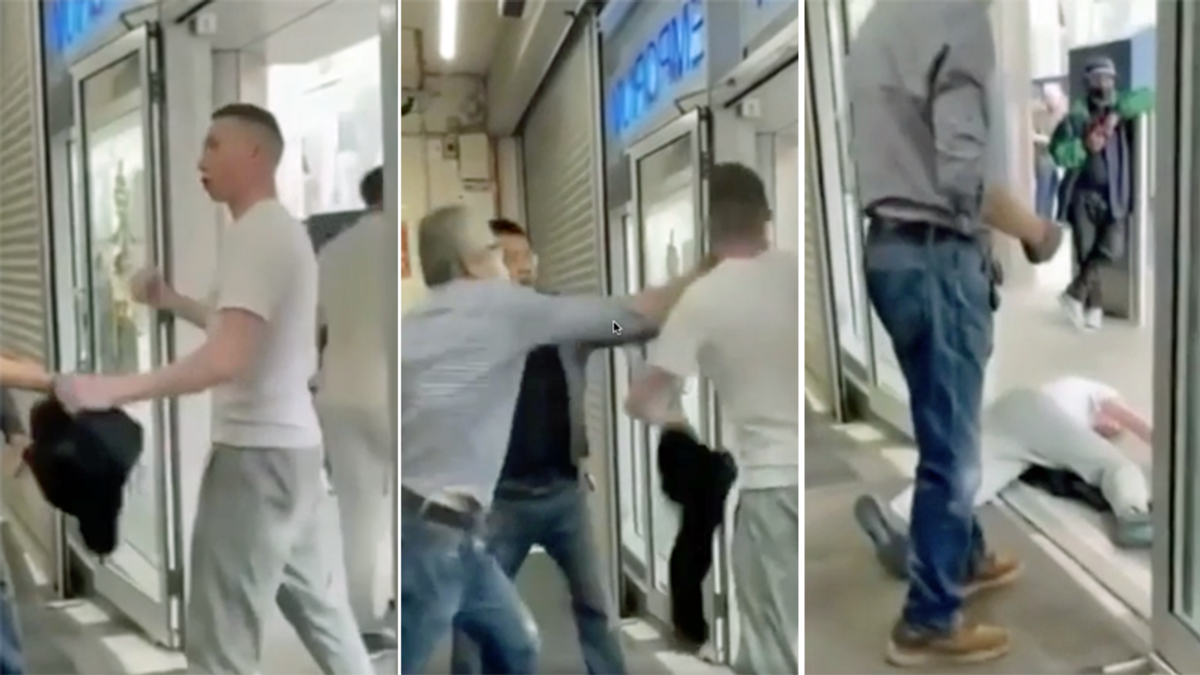 WATCH: Asian senior citizen knocks white man to the ground with a single punch