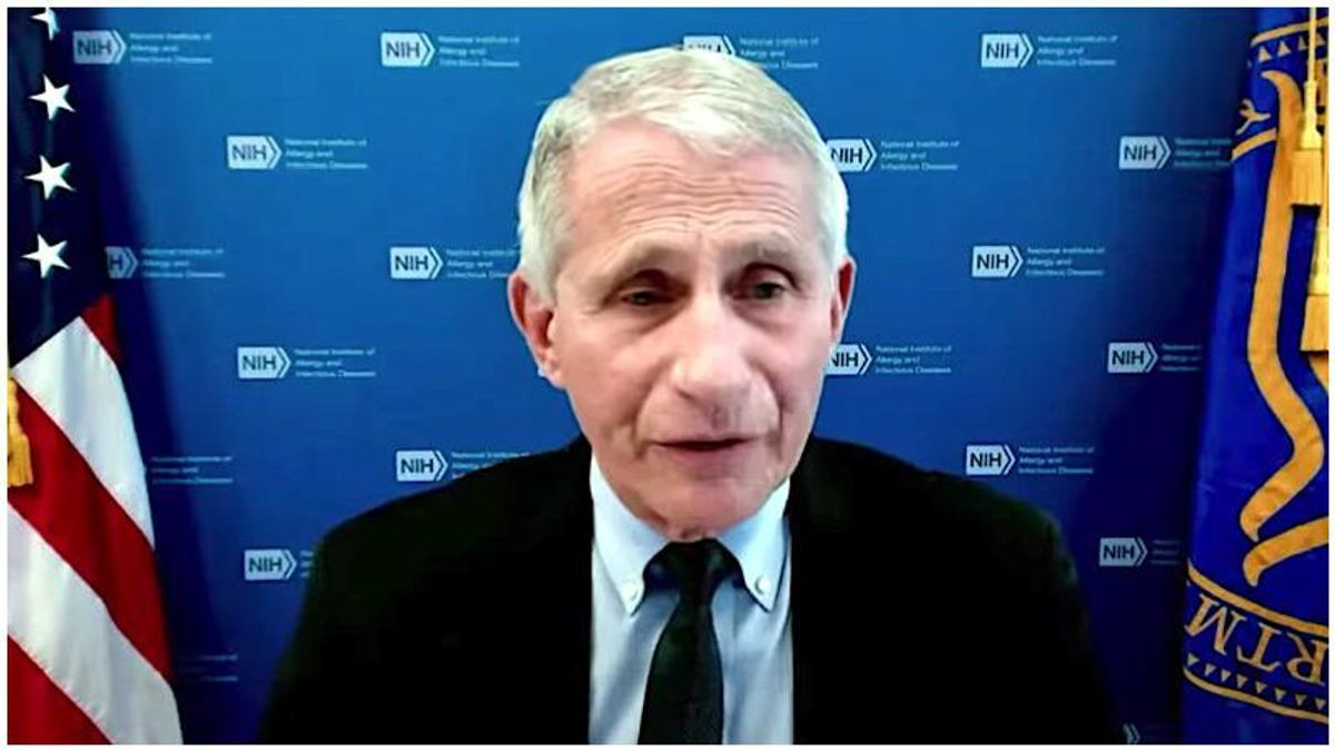 Fauci: Partially vaccinated people are especially vulnerable to 'Delta' COVID variant