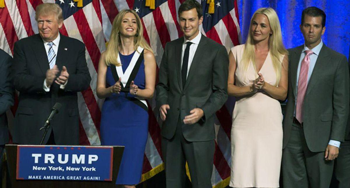 Pennsylvania man caught posing as 'amazing patriot' Trump family member for scam fundraising