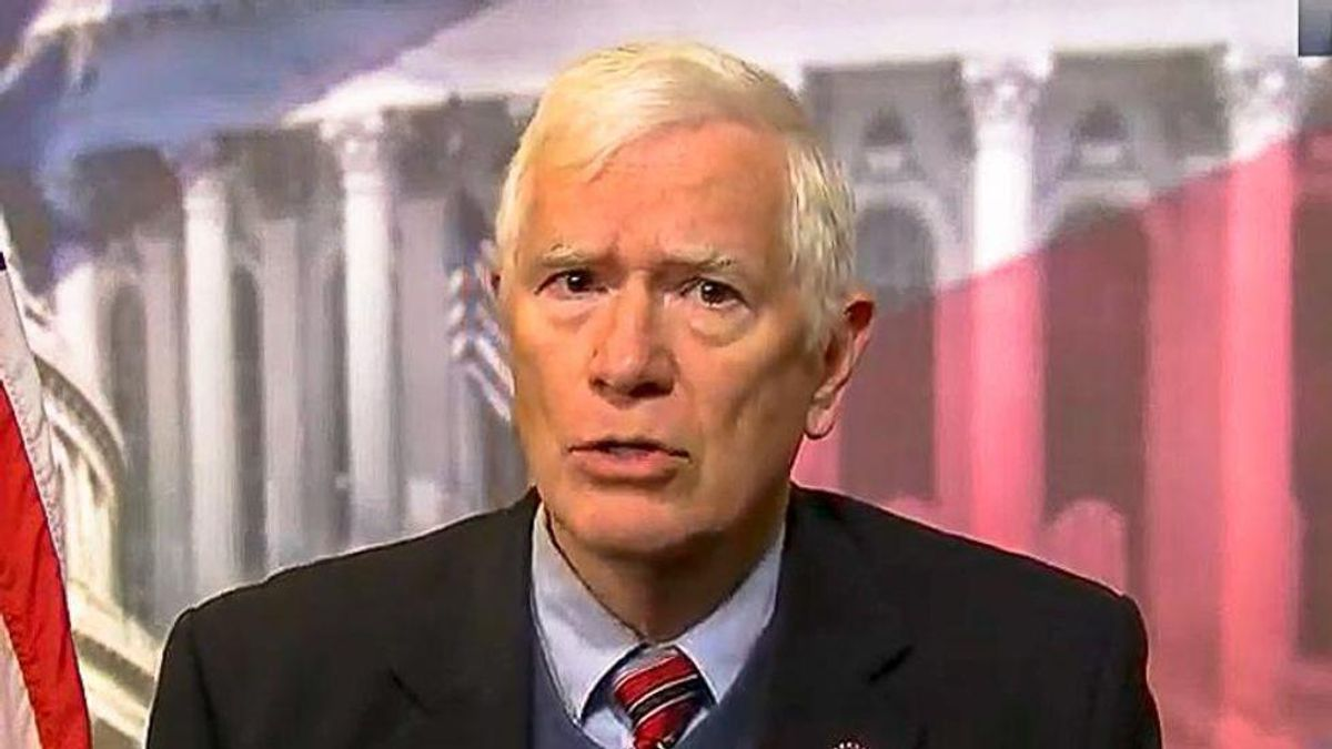 WATCH: Footage captures intense moment when Mo Brooks was served with Swalwell lawsuit