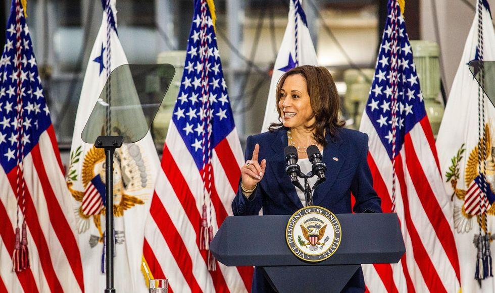 Harris invites all 24 female senators for dinner party as infrastructure talks stall