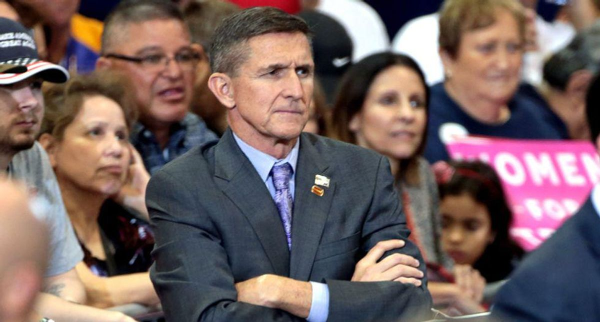 Americans demand court-martial for Flynn after call for military coup: 'Honor veterans — arrest this traitor'