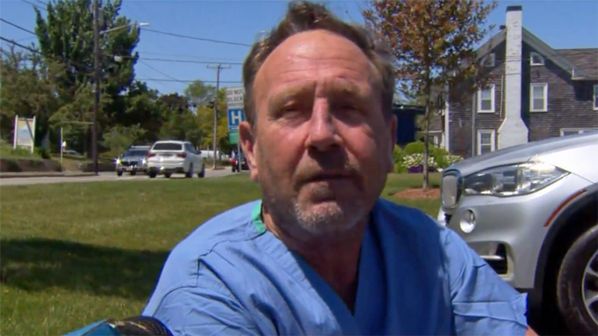 'Oh my God I'm in a whale's mouth': Massachusetts man tells of surviving humpback encounter
