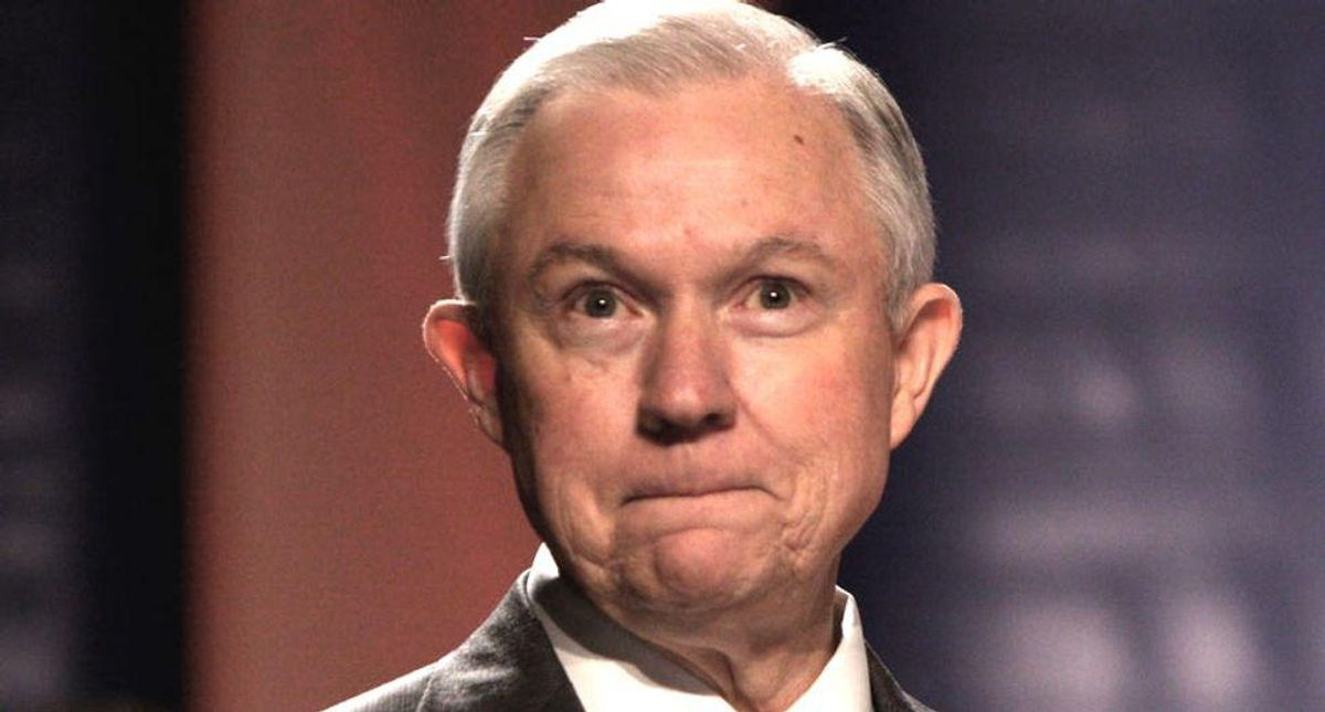 Was Jeff Sessions recused from case that resulted in Trump's DOJ spying on reporters?