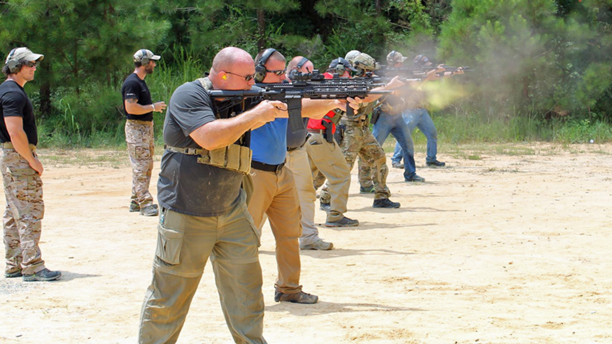 Capitol Police paid to train with company whose logo is a combination of hate symbols: report