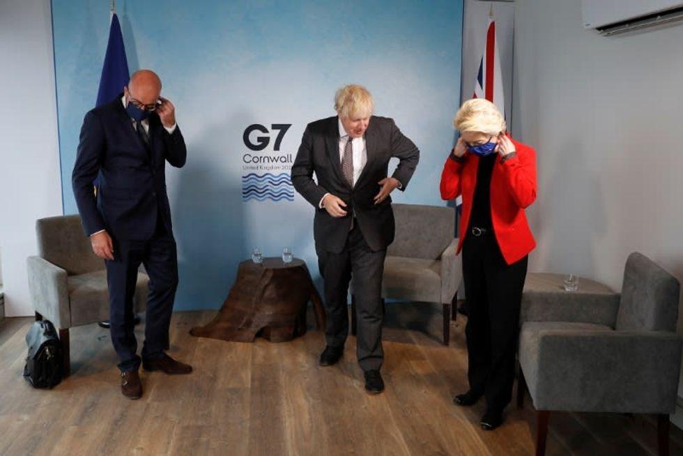 EU tells Britain's Johnson: Implement the Brexit deal