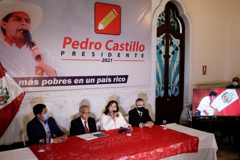 Peru's Castillo on verge of being named President after last-minute vote wrangling