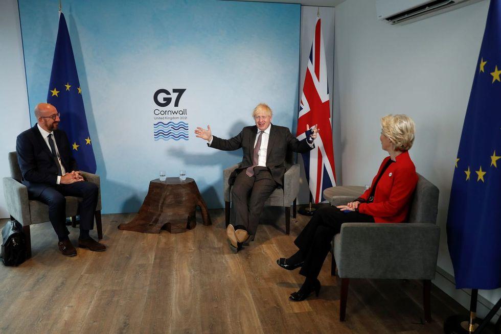 EU to Johnson: Britain has to honour Northern Ireland agreement