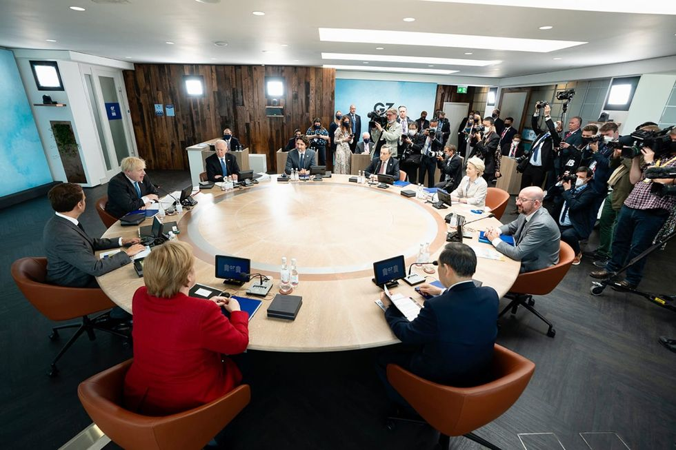 G7 plans infrastructure initiative to counter China's 'New Silk Road'