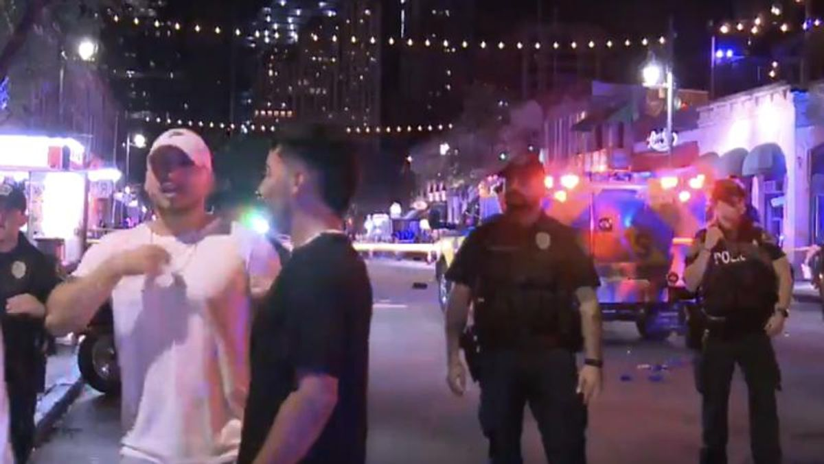 WATCH: Video shows chaos in the streets of Austin as shooting leaves at least 13 injured