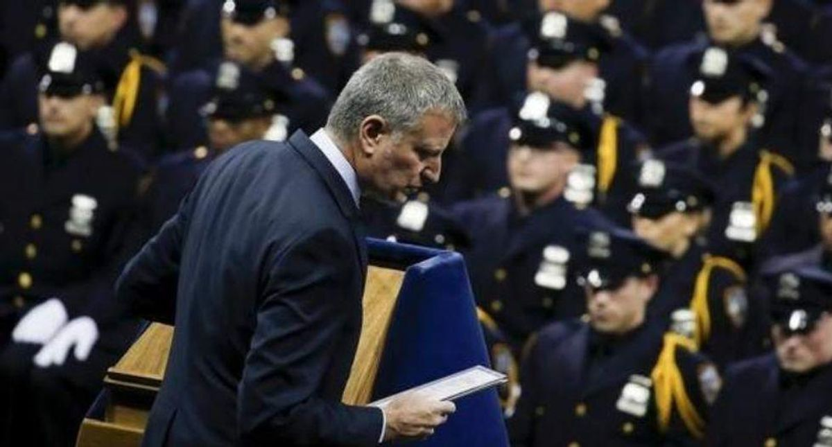 The inside story of how NY's Bill de Blasio promised, then thwarted police accountability