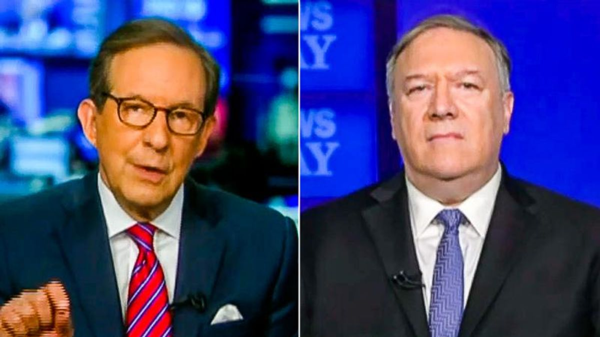 Chris Wallace grills Mike Pompeo: Trump 'had almost a year' to prove China lab leak theory