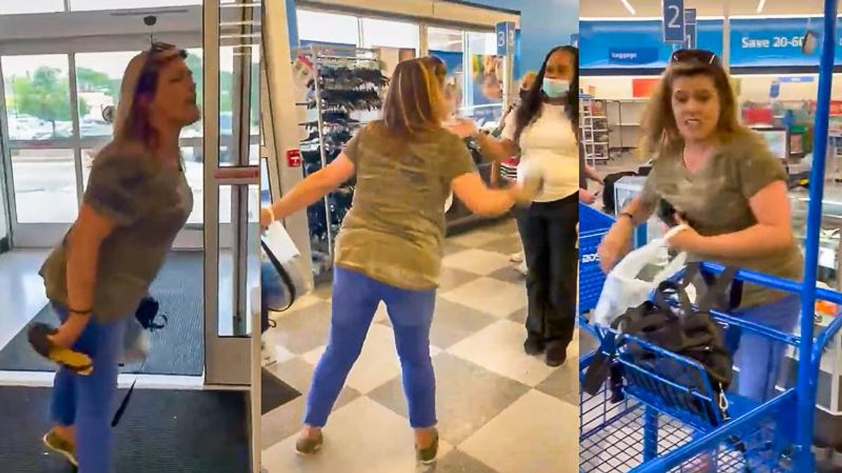 WATCH: White woman calls Black store manager 'monkey' in racist meltdown