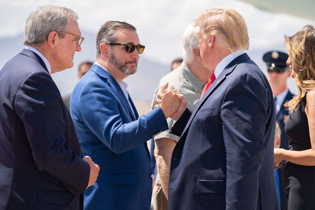 Ted Cruz brings lawsuit demanding Trump be able to pay himself back millions he gave to his campaign