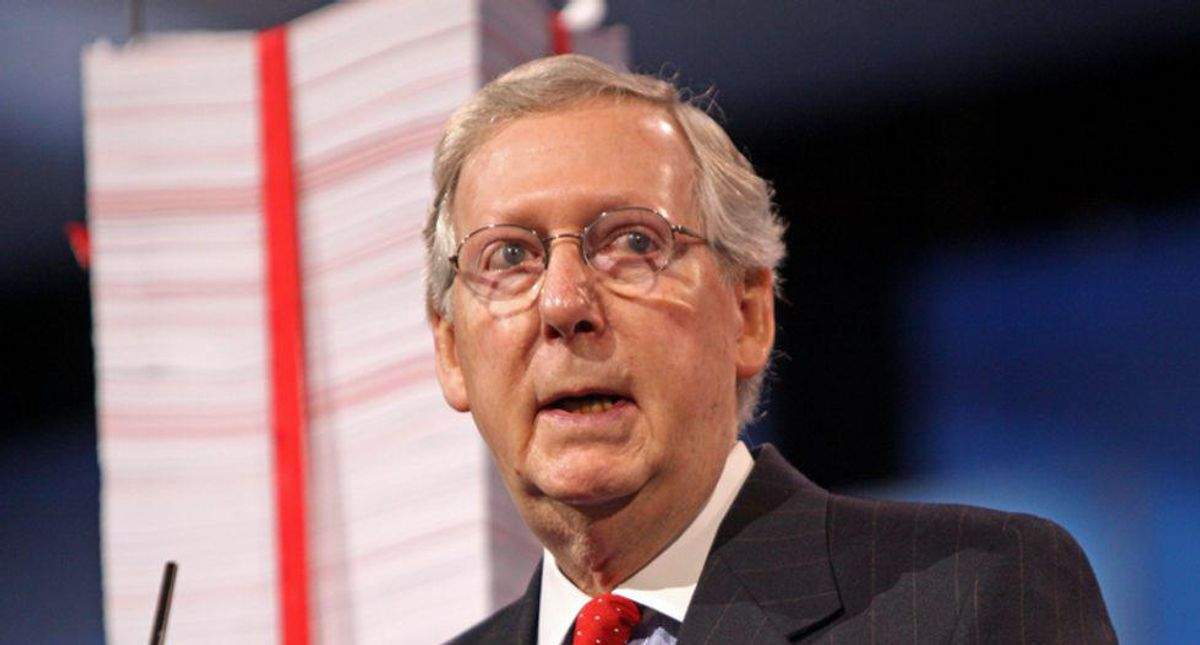 Mitch McConnell compared to segregationists like Strom Thurmond -- by using the senator's own words