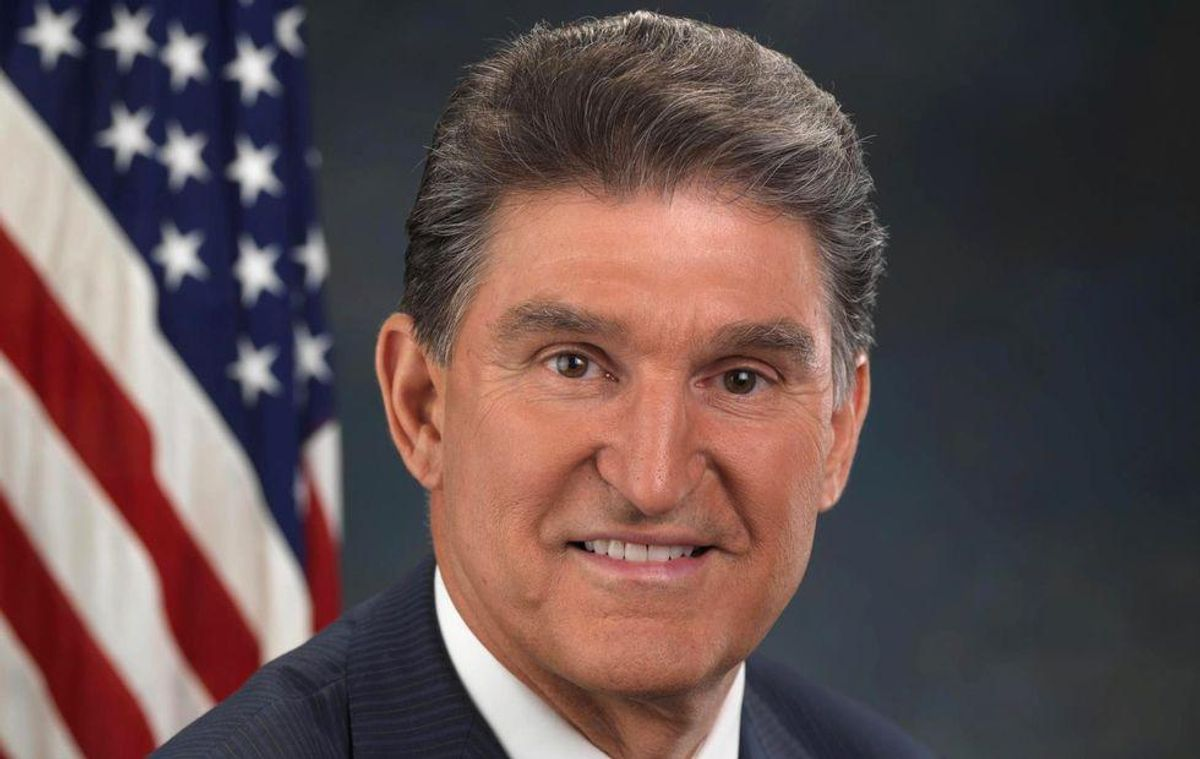 Who's pulling Joe Manchin's strings? His 'highly suspicious' reversal follows donation from corporate lobby