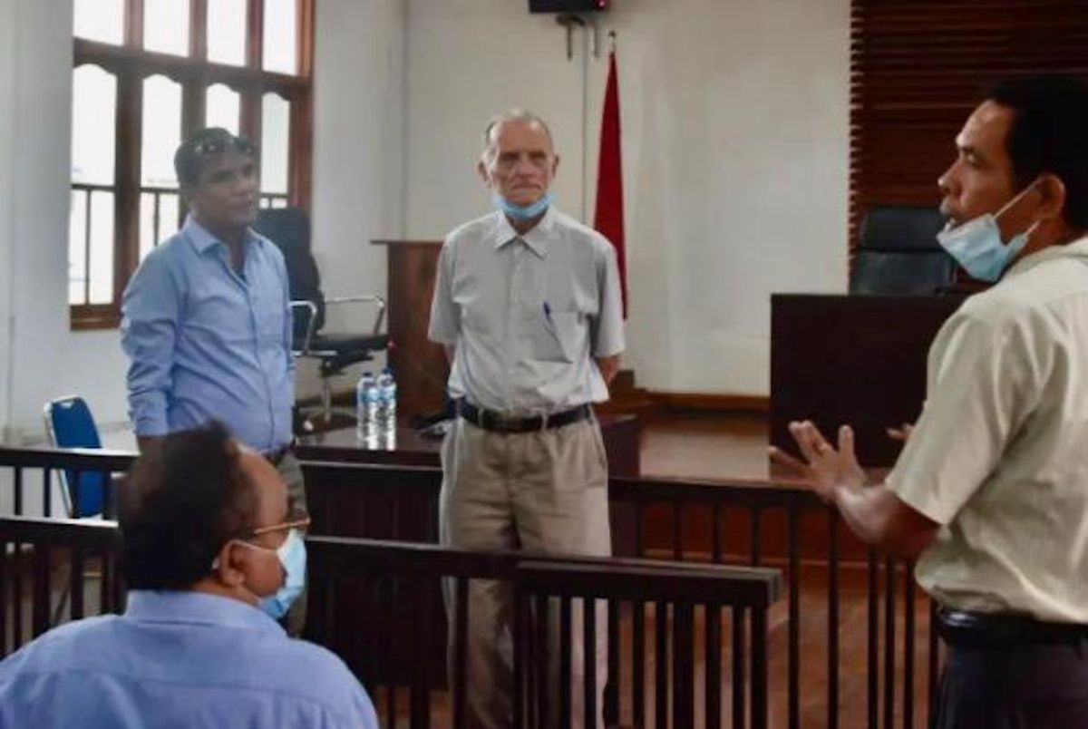 American ex-priest faces East Timor child sex-abuse trial
