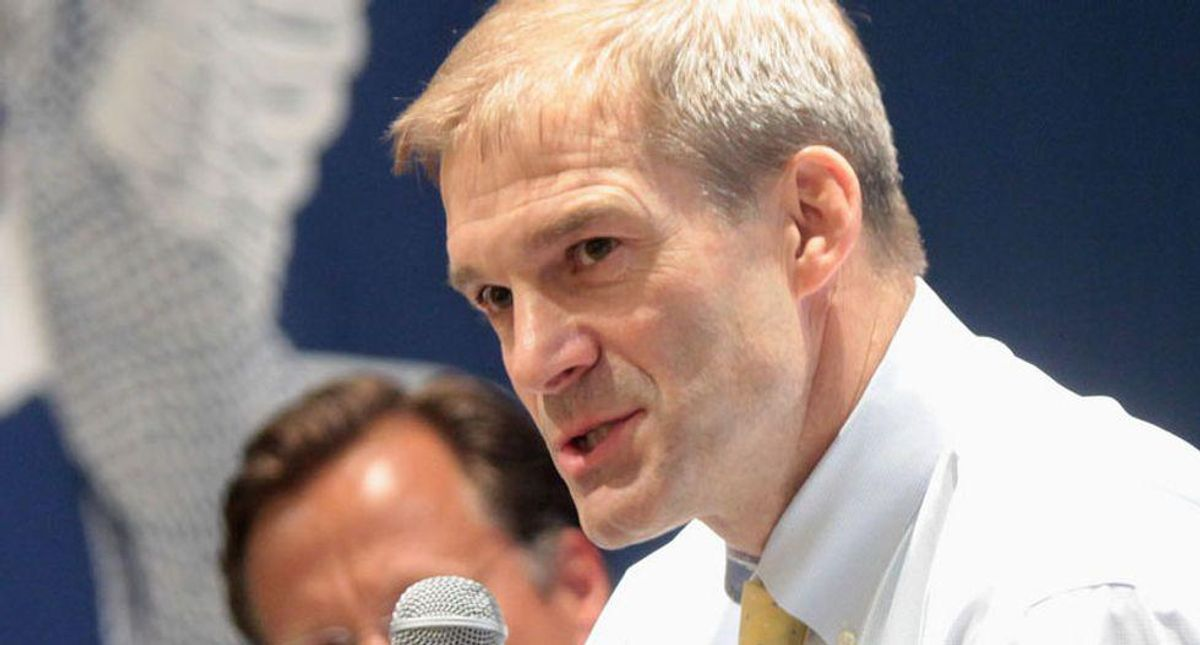Jim Jordan starts FBI hearing with a frenzied rant about Trump's social media bans and the raid of Rudy Giuliani's home