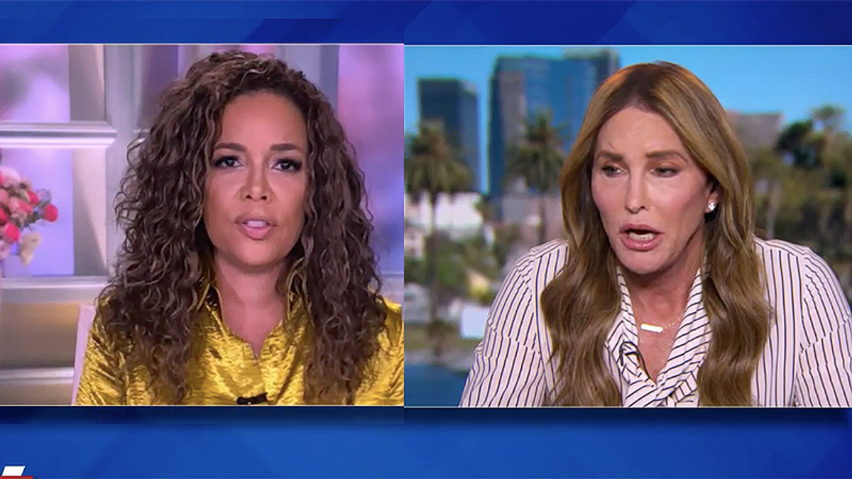 Caitlyn Jenner flops on The View as Sunny Hostin hammers her for hiring Trump cronies tied to the Capitol riot