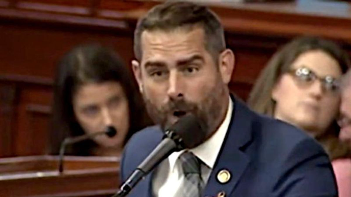 'Your boos mean nothing to me – I've seen what you cheer for': Democrat slams GOP lawmakers who cut his mic