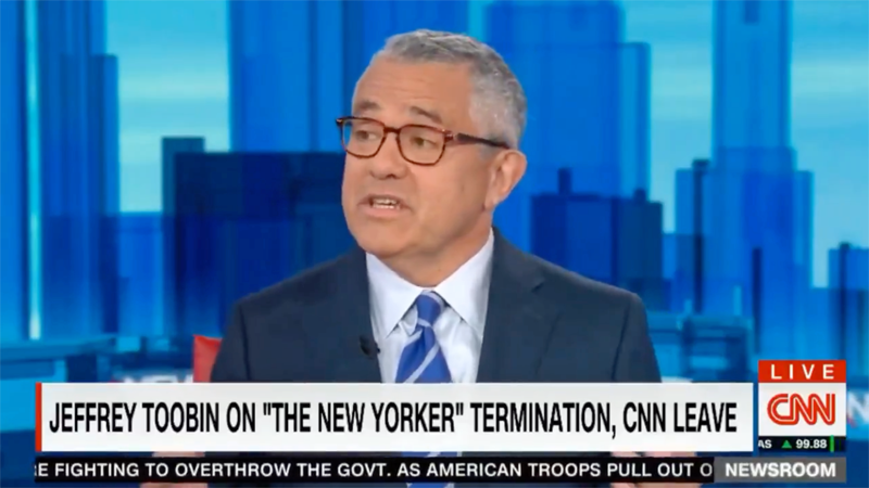 Yes, Jeffrey Toobin Has Returned to CNN After Zoom Call Incident