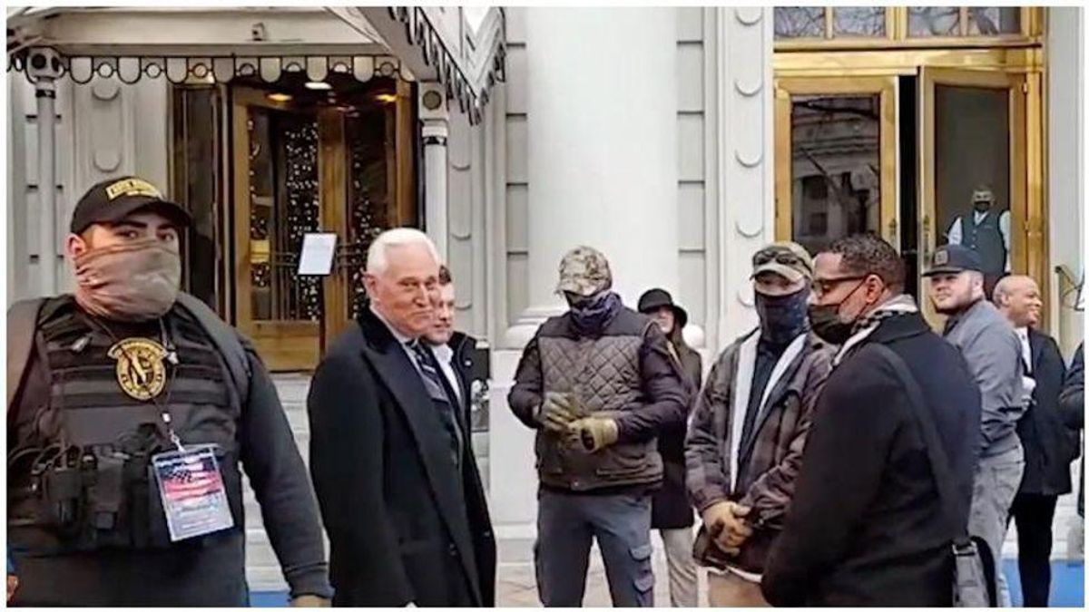 Feds arrest Three Percenter militia members for Capitol insurrection — including Roger Stone body guards: report
