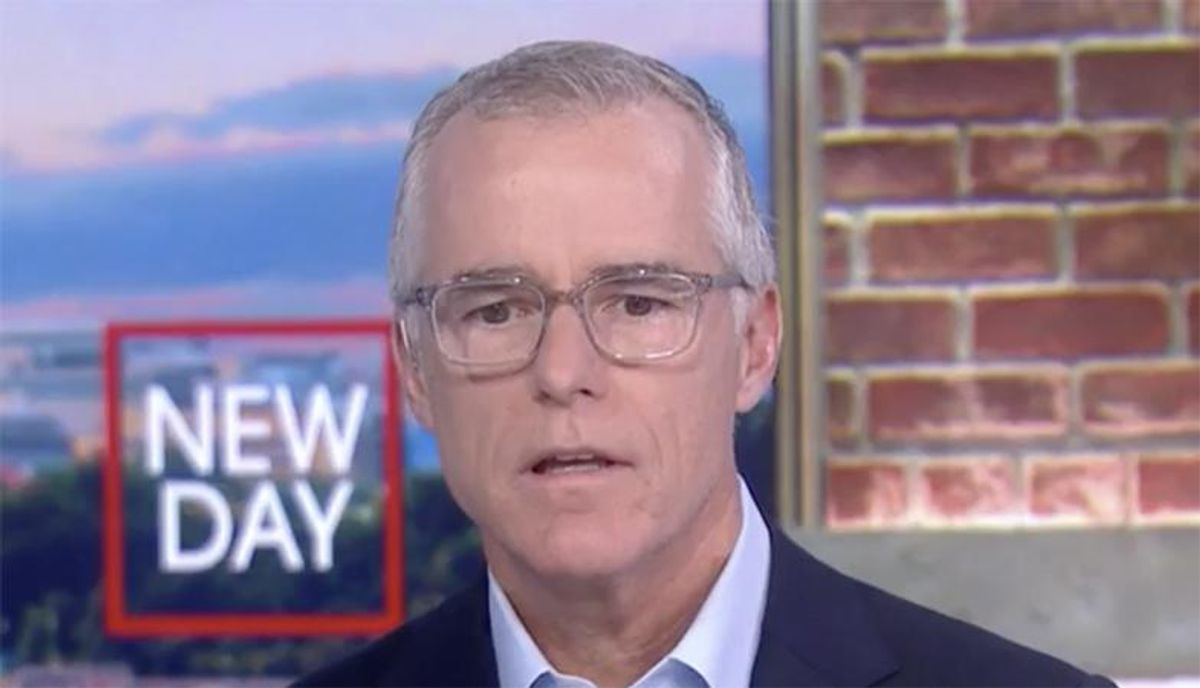 Andrew McCabe hammers 'relentless pursuit of retaliation' by Trump's DOJ after bombshell NYT report