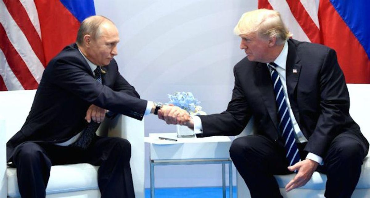 GOP drawing from 'authoritarian playbook' by trying to make everyone forget Trump's behavior toward Putin