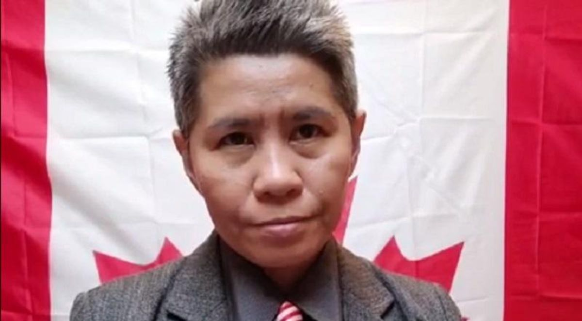 This woman thinks she's the secret Queen of Canada -- and she has a following among Trump-loving QAnon fans