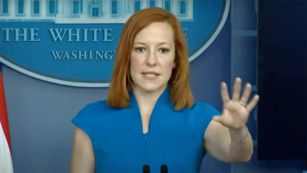 'Nonsense': Jen Psaki shoots down Politico report White House froze Ukraine military aid