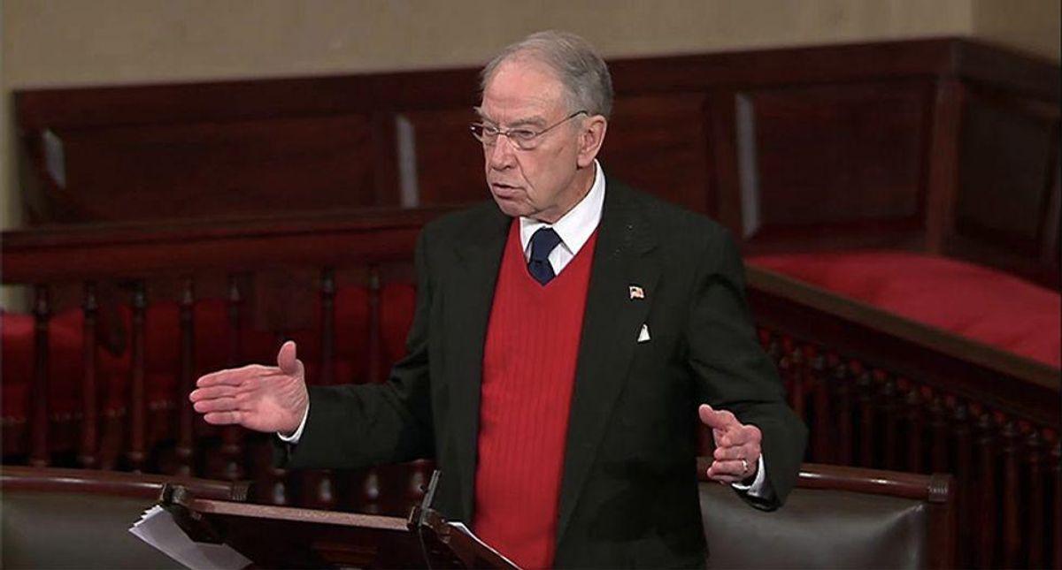 Chuck Grassley should retire after 4 decades in the Senate: Iowa voters